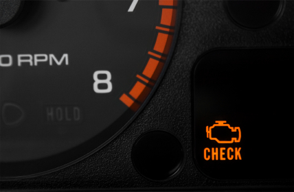 Flashing check engine light - CarMD